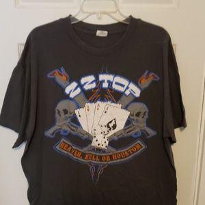 ZZ Top band tshirt